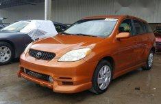 Super Clean Toyota Matrix XRS 2003/2004 Orange