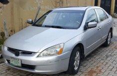 Honda Accord V6 2004 Gray for sale