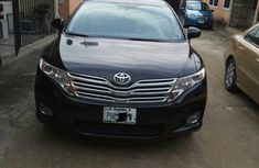 Clean Toyota Venza 2010 Black For Sale