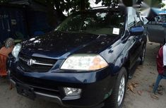 Acura Mdx 2004 Blue for sale