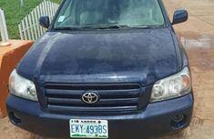 Toyota Highlander 2007 Blue for sale