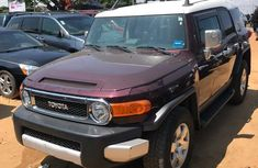 Clean Toyota FJ Cruiser 2007 Brown