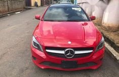 Mercedes Benz CLA 250 2014 Red for sale