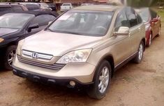 Honda CR-V SUV 2007 Gold For Sale