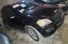 Registered Mercedes Benz ML500 2006 Black
