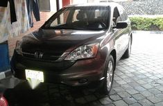 Clean Honda CRV 2012 Gray for sale