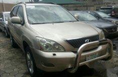 Nigerian Used Lexus Rx330 2005 Gold