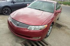 Clean Used Toyota Solara 2002 Red