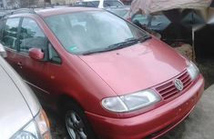 Used Volkswagen Sharan 1996 Red