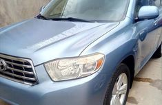 Toyota Highlander Limited 2008 Blue for sale