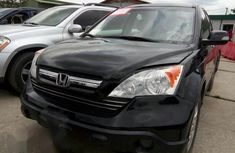 Clean Honda CRV 2007 Black for sale