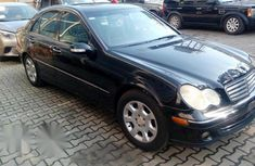 Mercedes-benz C320 2005 Black for sale