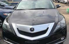 Clean Acura ZDX 2010 Black for sale