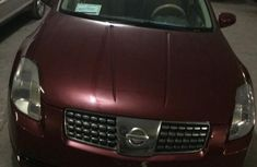 Nissan Maxima 3.5SE 2004 Red for sale