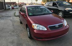Tokunbo Toyota Corolla 2007 Red for sale