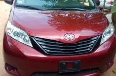 Tokunbo Toyota Sienna 2012 Red for sale