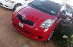Toyota Yaris 2006 Red for sale