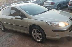 Peugeot 407 2007 Gold for sale