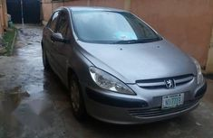 Neatly Used Peugeot 307 2003 Silver For Sale