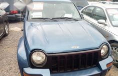 Jeep Liberty 3.7 L 2003 Blue for sale