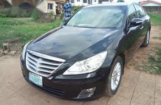 Hyundai Genesis 2009 Black for sale
