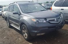 2011 Acura Mdx grey for sale