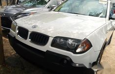 BMW X3 2006 White for sale