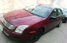 Clean Ford Fusion 2006 Red for sale
