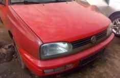 Tokunbo Volkswagen Commercial Wagon 2002 Red