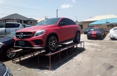 Mercedes-Benz GLE 450 2016 Red for sale