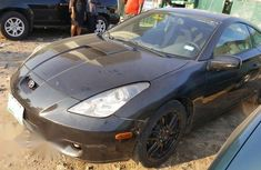 Clean Nigerian Used Toyota Celica 2002 Black