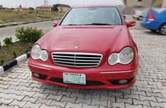 Mercedes-benz C230 2007 Red for sale