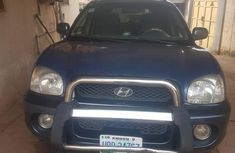 Hyundai Santa Fe 2002 Blue for sale