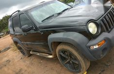 Jeep Liberty 2002 Black for sale