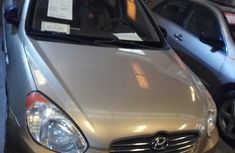 Hyundai Accent 2008 Gold for sale