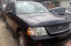 Ford Explorer 2003 Black For Sale