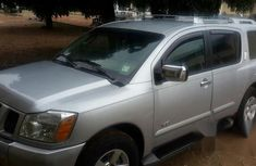 Great Nissan Armada 2006 Silver for sale