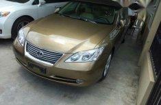 Clean Lexus ES350 2009 Gold for sale