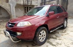 Clean Used Acura MDX 2003 Red for sale