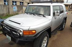 Clean Used Toyota FJ Cruiser 2008 Silver