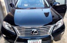 Lexus RX 350 2013 Black for sale