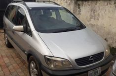 Opel Zafira 2002 Silver For Sale