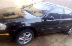 Nissan Maxima 2002 Black for sale