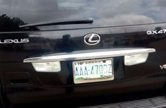Nigeria Used Lexus GX470 2005 Black