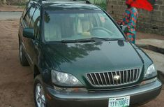 Clean Lexus Rx300 2003 Green For Sale