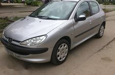 Tokunbo Peugeot 206 2005 Gray for sale