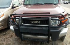 Toyota Fj Cruiser 2009 Brown for sale