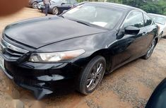 Neatly Used Honda Accord Coupe 2011 Black For Sale