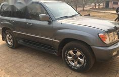 Toyota Land Cruiser 2002 Gray for sale
