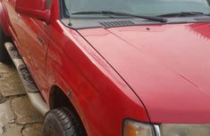 Nissan Frontier 2006 Red for sale